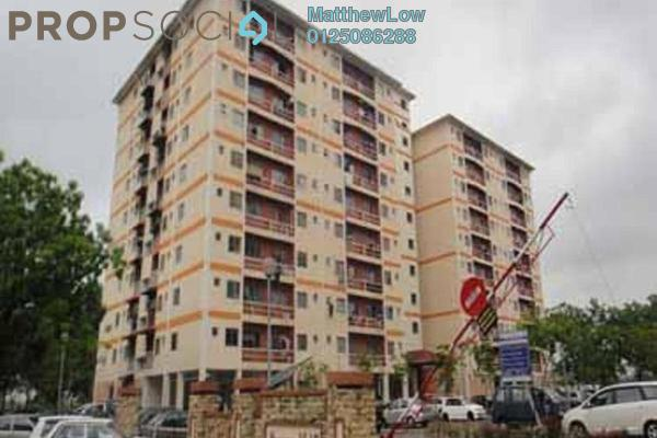 Apartment For Sale in Taman Mas Flat, Sungai Nibong Freehold Semi Furnished 3R/2B 310k