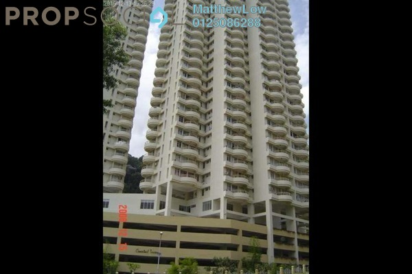 Condominium For Rent in Coastal Towers, Tanjung Bungah Freehold Fully Furnished 2R/2B 1.5k