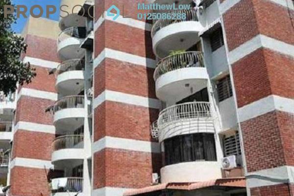 Condominium For Rent in Taman Kampar, Georgetown Freehold Semi Furnished 2R/1B 1k