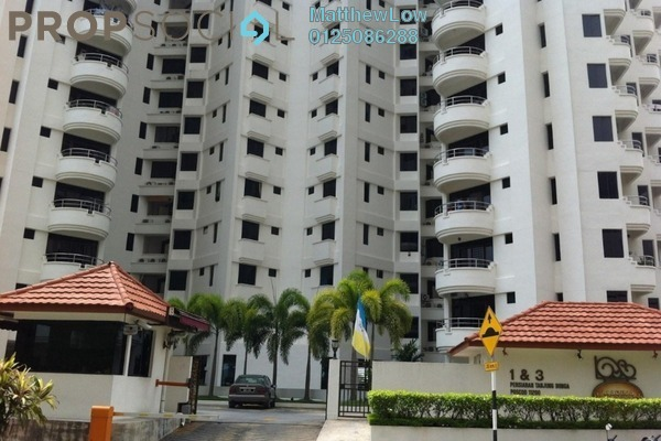 Condominium For Sale in Marina Tower, Tanjung Bungah Freehold Fully Furnished 3R/2B 300k