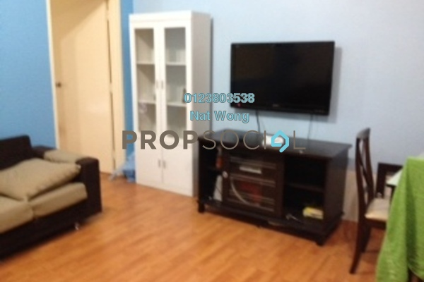 Condominium For Sale in Maytower, Dang Wangi Freehold Semi Furnished 1R/1B 650k