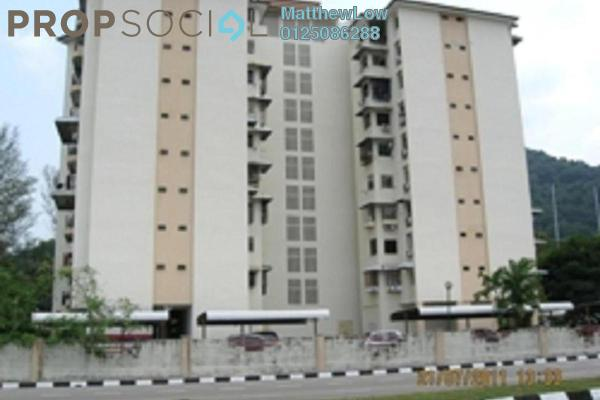 Apartment For Sale in Golf View Apartment, Bukit Jambul Leasehold Fully Furnished 3R/2B 500k