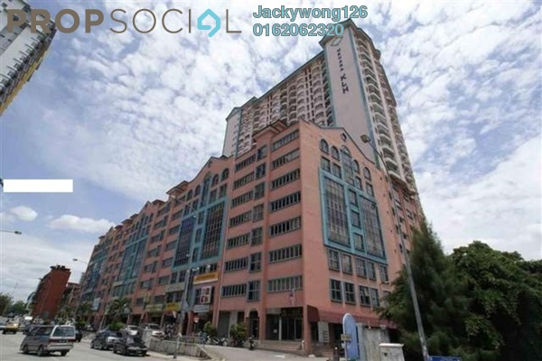 Condominium For Sale in Menara KLH, Sentul Freehold Semi Furnished 3R/3B 390k