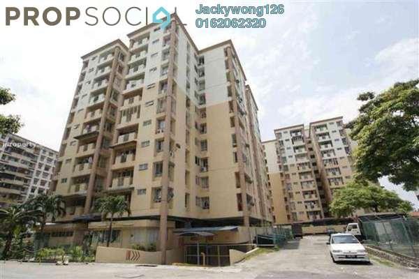 Condominium For Sale in Le Jardine, Pandan Indah Freehold Unfurnished 3R/2B 370k