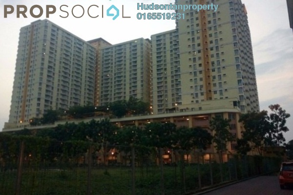 Condominium For Sale in Platinum Lake PV12, Setapak Leasehold Unfurnished 3R/2B 440k