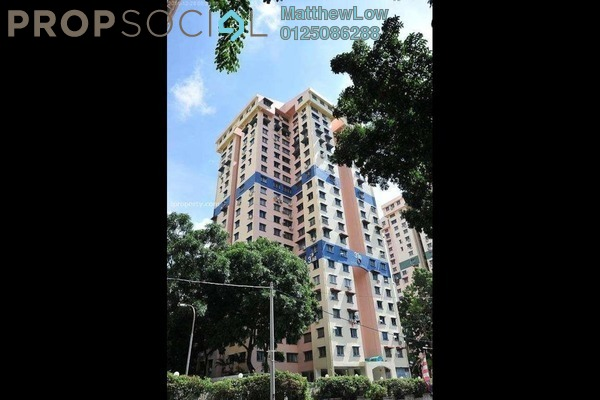 Apartment For Sale in Sentral Greens, Relau Freehold Semi Furnished 3R/2B 180k