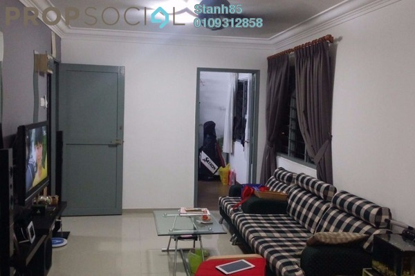 Apartment For Sale in Section 2, Wangsa Maju Leasehold Semi Furnished 3R/2B 268k