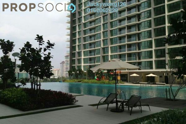 Condominium For Sale in The Z Residence, Bukit Jalil Freehold Semi Furnished 4R/2B 720k