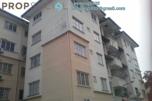 Apartment For Sale in Taman Sungai Kapar Indah, Kapar Freehold Semi Furnished 3R/3B 135k