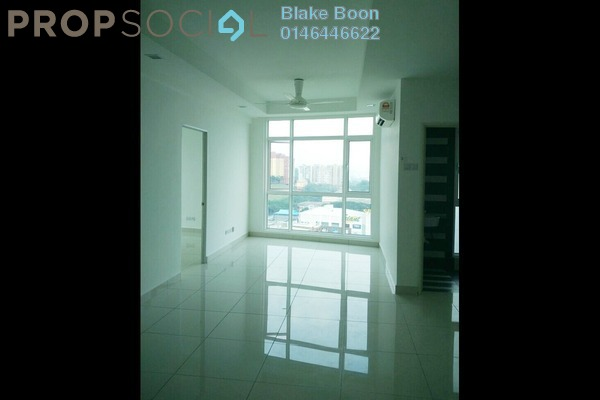 Condominium For Sale in Central Residence, Sungai Besi Freehold Semi Furnished 2R/2B 500k