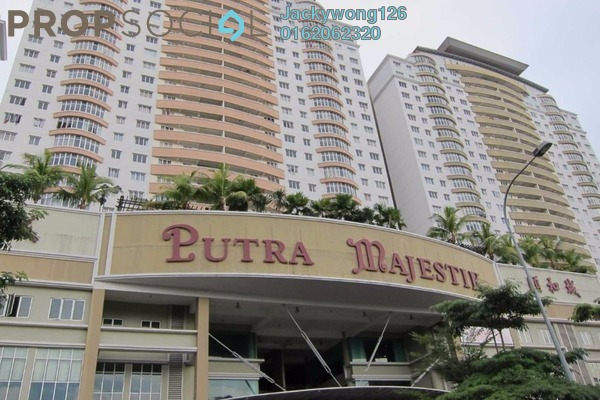 Condominium For Sale in Putra Majestik, Sentul Freehold Unfurnished 3R/2B 480k