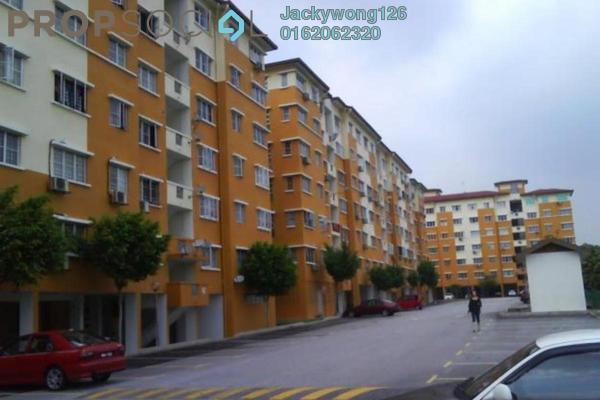 Apartment For Sale in Salvia Apartment, Kota Damansara Leasehold Semi Furnished 3R/2B 240k