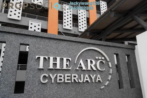Condominium For Rent in The Arc, Cyberjaya Freehold Fully Furnished 3R/2B 1.55k