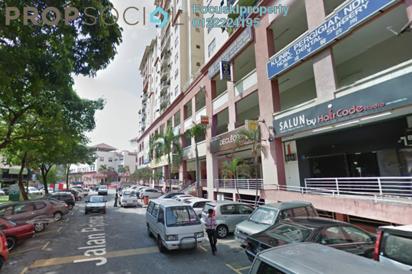 Apartment For Rent in Vista Magna, Kepong Leasehold Semi Furnished 3R/2B 1.4k