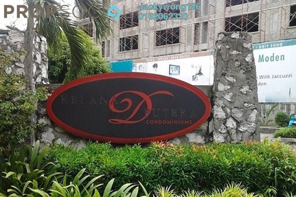 Condominium For Sale in Kelana D'Putera, Kelana Jaya Freehold Semi Furnished 3R/2B 480k
