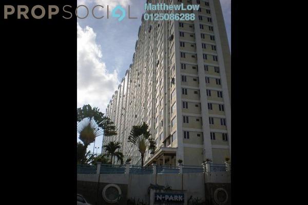 Condominium For Sale in N-Park, Batu Uban Freehold Fully Furnished 3R/2B 388k
