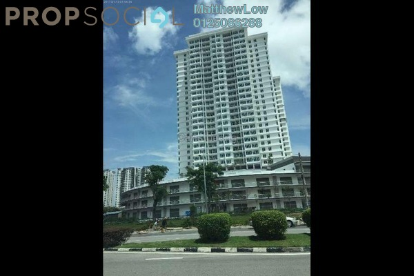 Condominium For Rent in Arena Residence, Bayan Baru Freehold Unfurnished 4R/2B 1.4k