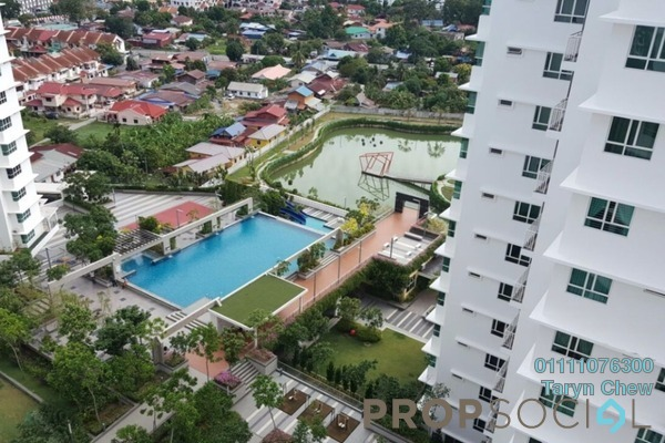 Condominium For Sale in Fiera Vista, Sungai Ara Freehold Unfurnished 3R/2B 630k