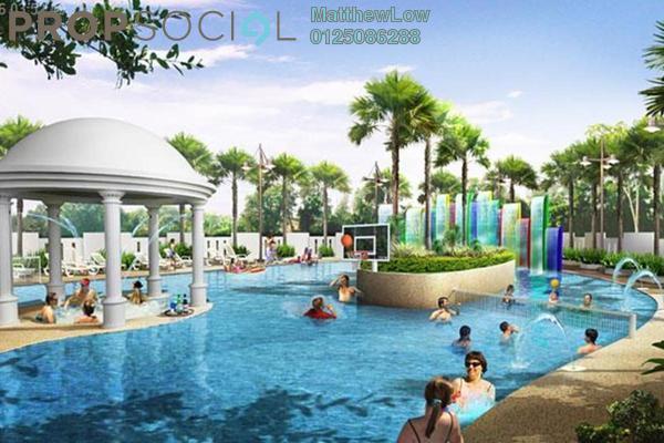 Condominium For Rent in Pinang Laguna, Seberang Jaya Freehold Semi Furnished 3R/2B 1k