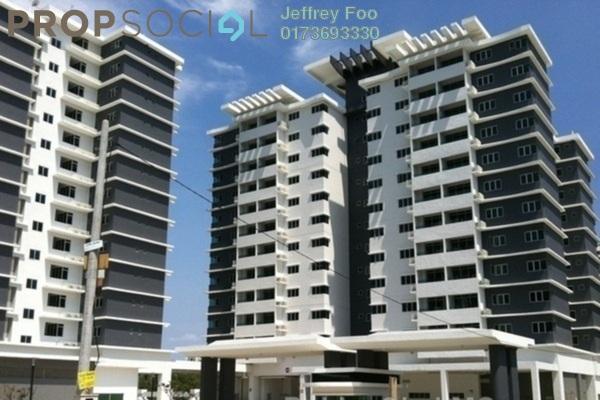 Condominium For Sale in Kiara Residence, Bukit Jalil Leasehold Semi Furnished 3R/2B 680k