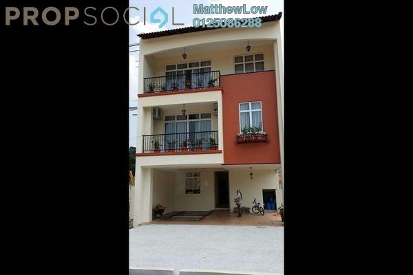 Terrace For Sale in Sungai Pinang, Balik Pulau Freehold Semi Furnished 4R/3B 629k