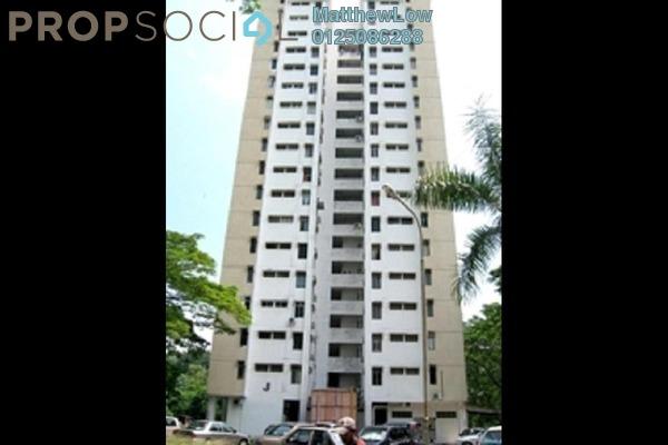Apartment For Sale in Taman Bukit Jambul, Bukit Jambul Freehold Semi Furnished 3R/2B 300k