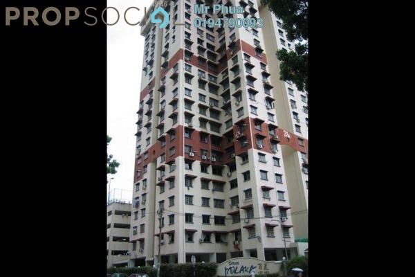 For Sale Apartment at Taman Pekaka, Sungai Dua Freehold Fully Furnished 3R/2B 438k