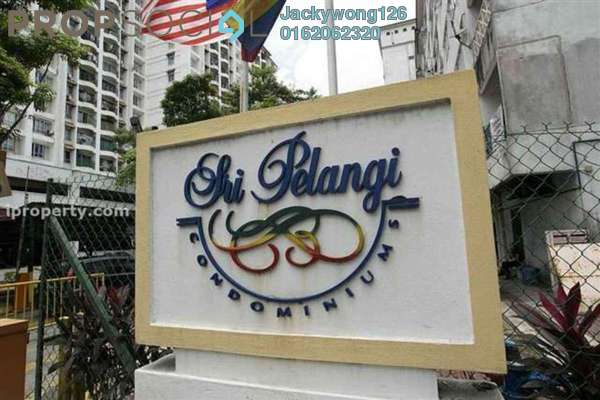 Condominium For Sale in Sri Pelangi, Setapak Freehold Semi Furnished 3R/2B 450k