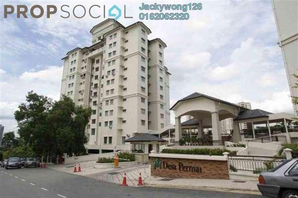 For Rent Condominium at Desa Permai, Taman Desa Freehold Semi Furnished 3R/2B 1.65k