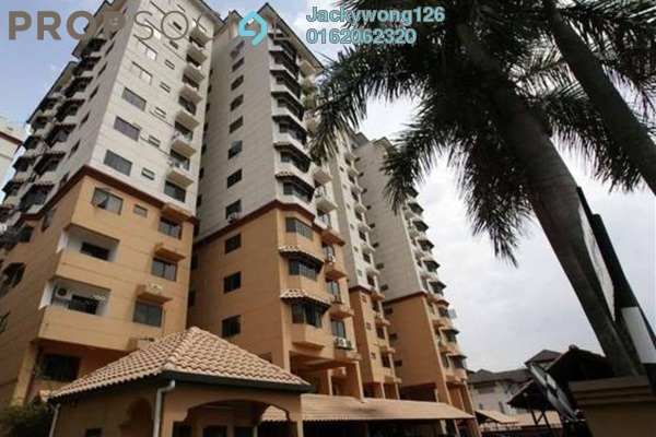 Condominium For Rent in Kelana Parkview, Kelana Jaya Freehold Semi Furnished 3R/2B 2.2k