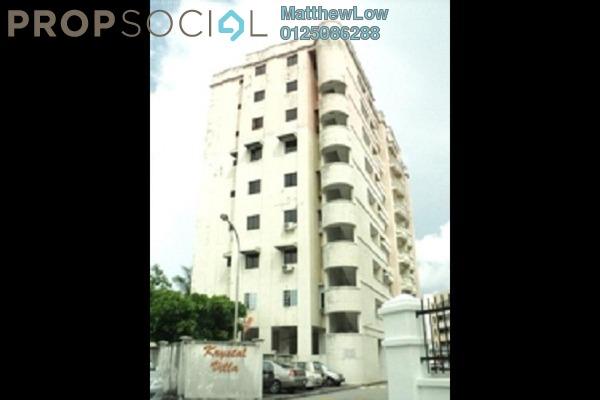 Condominium For Sale in Krystal Villa, Sungai Nibong Freehold Fully Furnished 3R/2B 419k