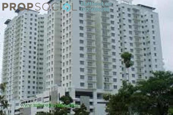 Condominium For Sale in Sea View Tower, Butterworth Freehold Semi Furnished 4R/2B 450k