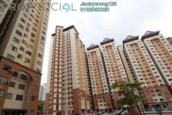 Apartment For Sale in Desa Tun Razak, Bandar Tun Razak Leasehold Semi Furnished 2R/1B 160k