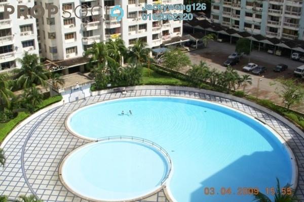 Condominium For Sale in Petaling Indah, Sungai Besi Leasehold Semi Furnished 3R/2B 330k