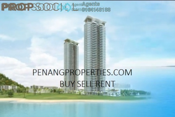 Condominium For Rent in One Tanjong, Tanjung Bungah Freehold Semi Furnished 4R/4B 7.5k