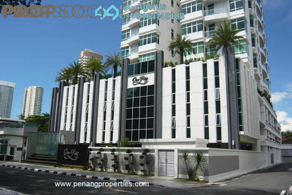 Condominium For Sale in H Residence, Gurney Drive Freehold Semi Furnished 5R/4B 2.8m