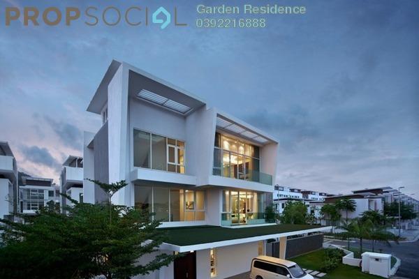 Bungalow For Sale in Aspen Bungalows @ Garden Residence, Cyberjaya Freehold unfurnished 9R/9B 3.4m