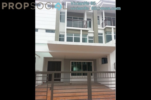 For Rent Terrace at One Sierra, Selayang Leasehold Semi Furnished 5R/5B 2.7k