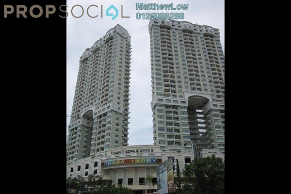 Condominium For Sale in Plaza Ivory, Bukit Gambier Freehold Fully Furnished 3R/2B 560k