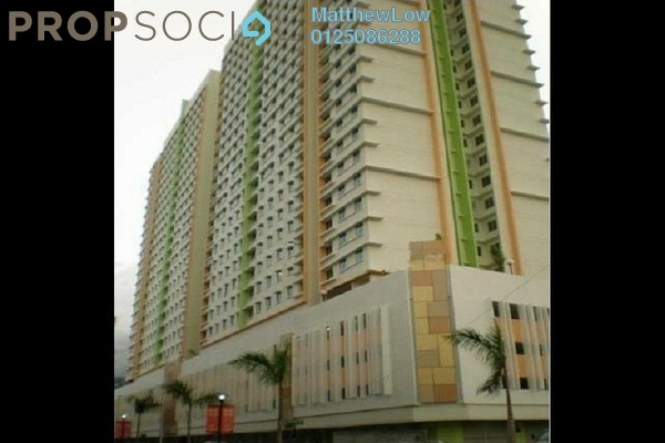 Apartment For Sale in Harmony View, Jelutong Freehold Semi Furnished 3R/1B 375k