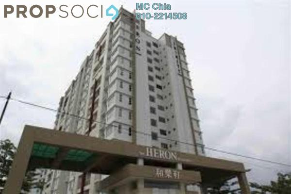 For Sale Serviced Residence at The Heron Residency, Puchong Leasehold Unfurnished 3R/2B 390k