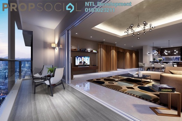 Condominium For Sale in Infiniti3 Residences, Wangsa Maju Leasehold Semi Furnished 2R/2B 638k