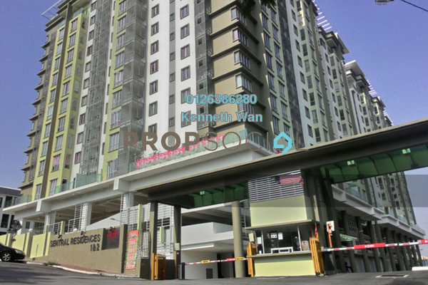 Condominium For Rent in Sentral Residences, Kajang Freehold Unfurnished 3R/2B 1k
