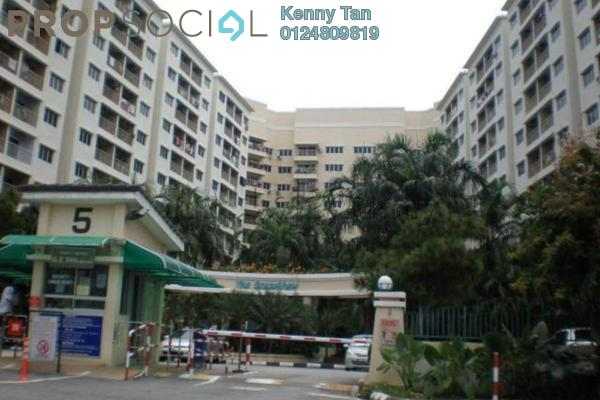 Apartment For Rent in The OceanView, Jelutong Leasehold Semi Furnished 3R/2B 1.15k