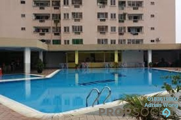 For Sale Condominium at Pelangi Indah, Jalan Ipoh Freehold Semi Furnished 3R/2B 285k
