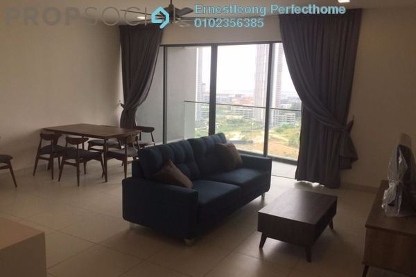 Serviced Residence For Rent in Cristal Residence, Cyberjaya Freehold Fully Furnished 3R/2B 2.8k