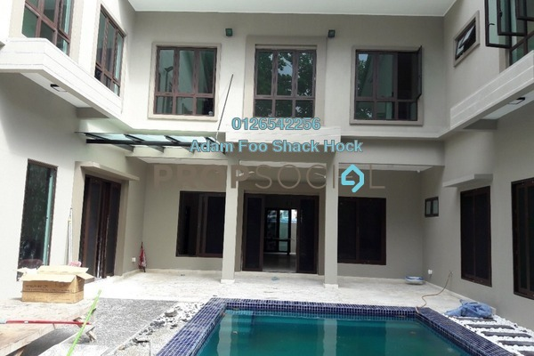Bungalow For Rent in Taman Ampang Utama, Ampang Leasehold Semi Furnished 8R/9B 18k