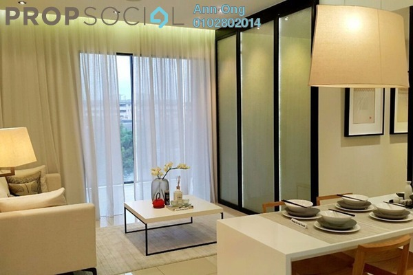 Condominium For Rent in Central Residence, Sungai Besi Freehold Fully Furnished 2R/2B 1.8k
