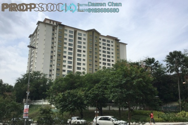 Condominium For Sale in Green Avenue, Bukit Jalil Freehold Semi Furnished 4R/2B 450k