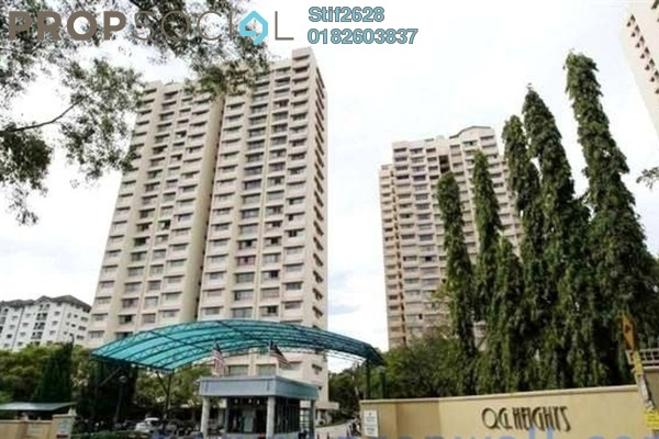 Condominium For Rent in OG Heights, Old Klang Road Freehold Fully Furnished 3R/2B 1.6k